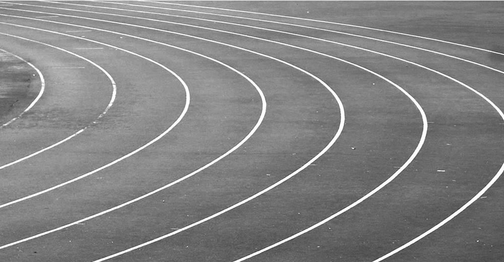 training talk running track